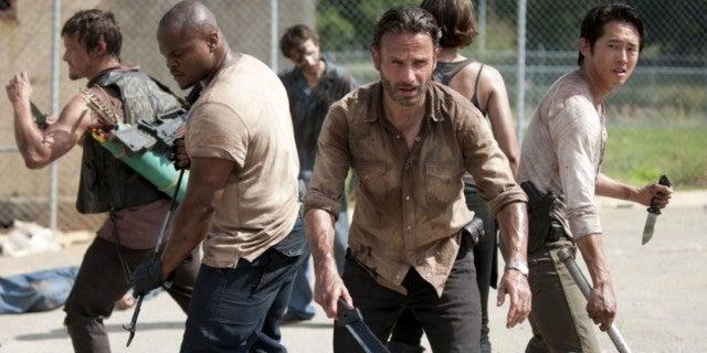 The Walking Dead season 3 prison crew