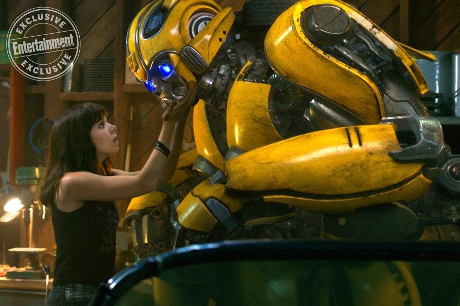 transformers spinoff bumblebee reveals  image
