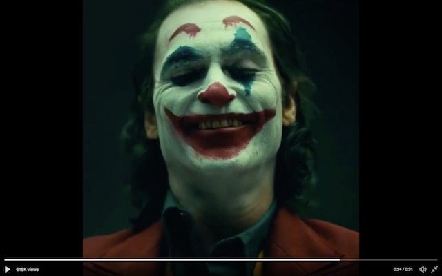 Joaquin Phoenix's Joker just might work