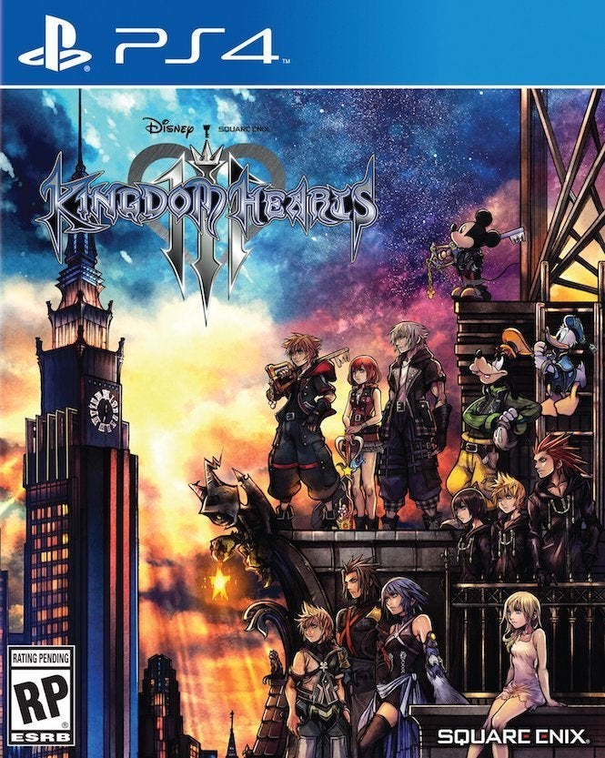 New Kingdom Hearts III Trailer Reveals New Scenes, New Worlds