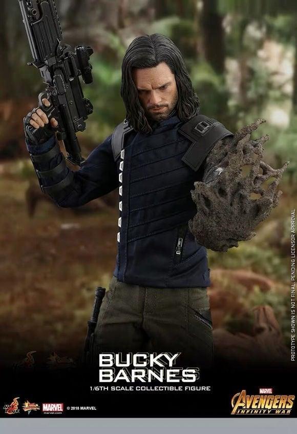Bucky Barnes Hot Toys
