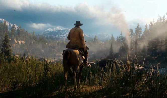 Released a release trailer for Red Dead Redemption 2