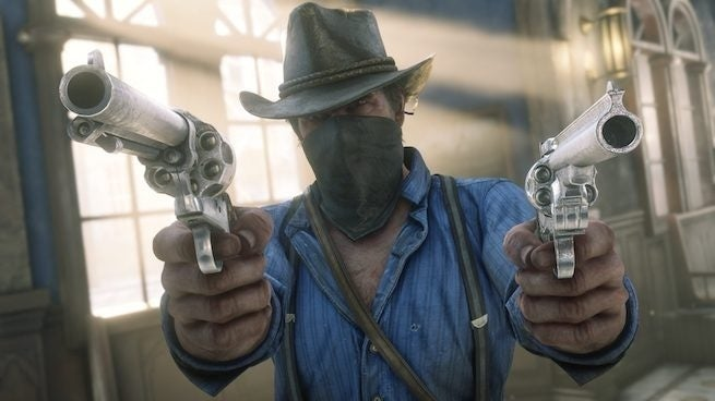 Hexbyte - Science and Tech red dead redemption 2 close up guns