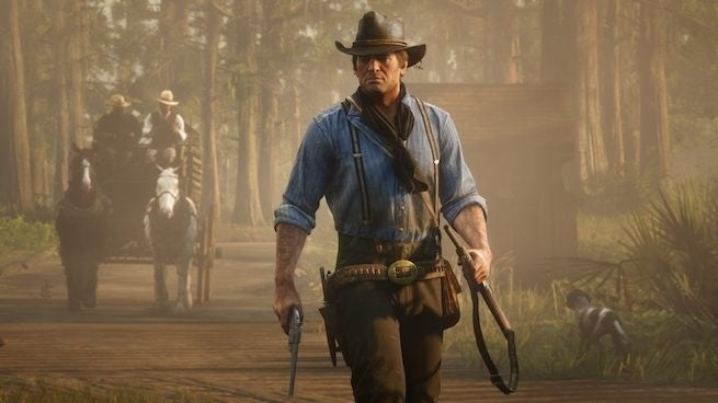 Hexbyte - Science and Tech red dead redemption 2 walking