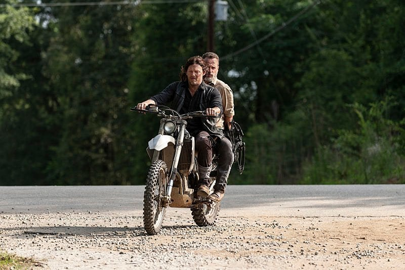 'The Walking Dead' prepares to say goodbye to its leader Rick Grimes