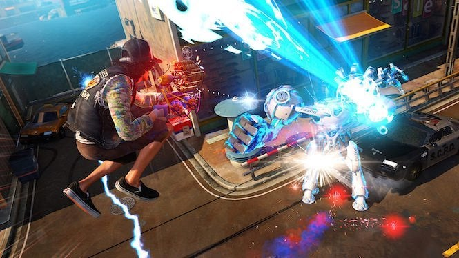 Sunset Overdrive grinds onto PC today minus multiplayer