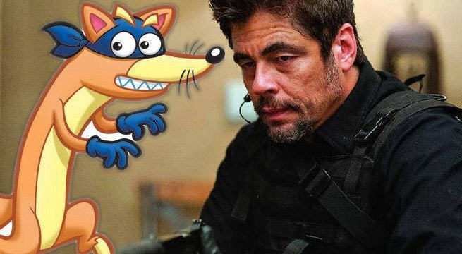 Benicio Del Toro cast as Dora The Explorer villain Swiper the Fox