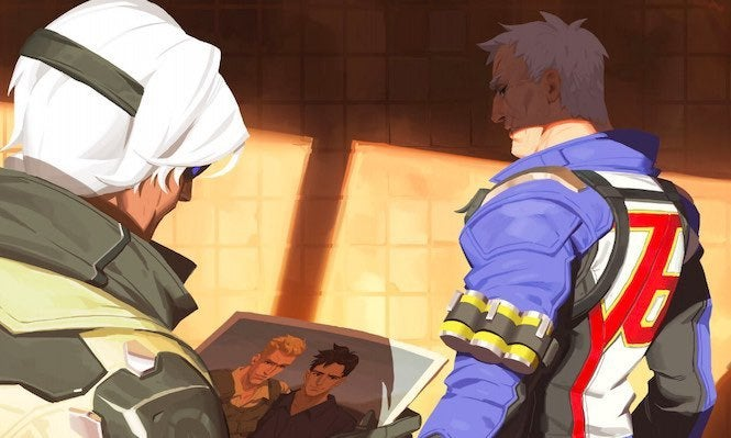 'Overwatch' Confirms Soldier: 76 As Its Second LGBTQ Character