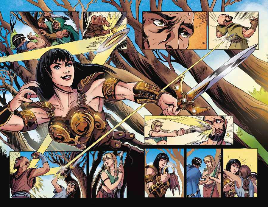 Xena Warrior Princes Comic