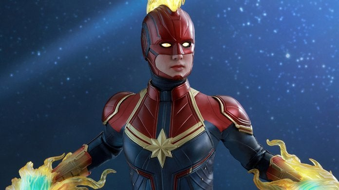 Marvel's New 'Captain Marvel' Website Is a Throwback to '90s Web Design