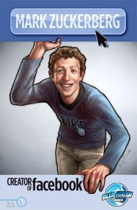 Mark Zuckerberg comic book