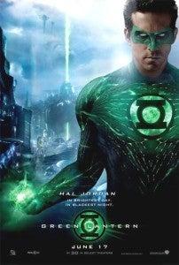 Green Lantern movie poster