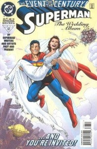 Superman Lois Lane Wedding Issue