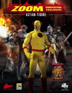 Zoom San Diego Comic Con Exclusive Action Figure