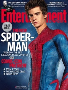 Amazing Spider-Man Entertainment Weekly