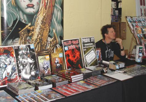 Brian Pulido, creator of Lady Death at Nashville Comic Con
