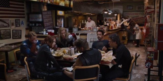 avengers between the scenes