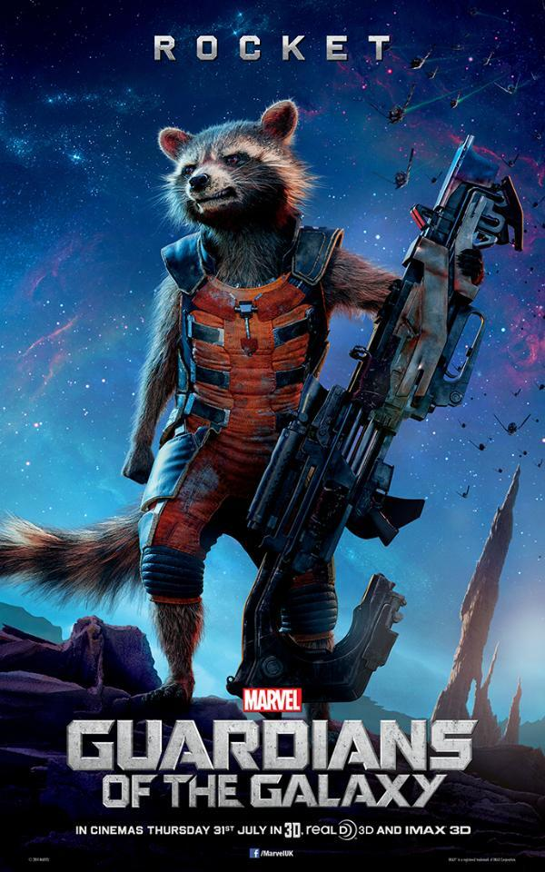 In guardians of the galaxy in the far reaches of space an american
