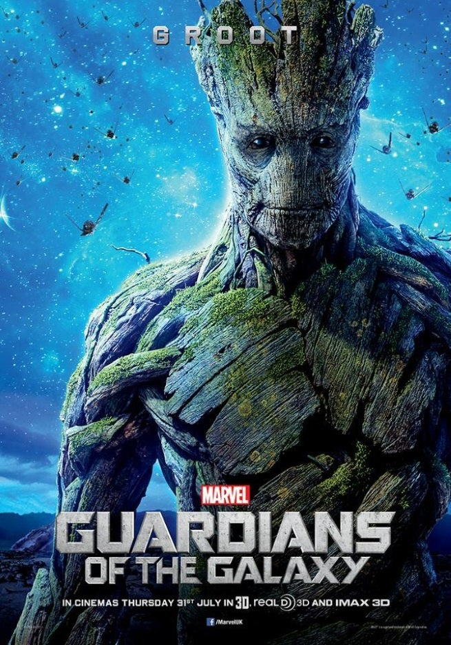 In Guardians of the Galaxy   in the far reaches of space  an American    Guardians Of The Galaxy Characters Groot