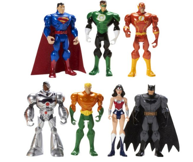 Best Justice League Toys And Action Figures For Kids : Hell yeah superman n wonder woman