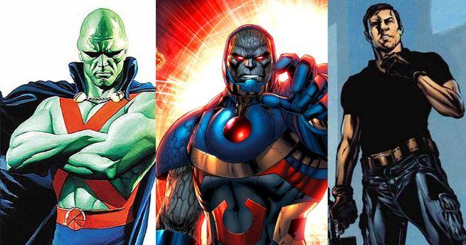 Martian Manhunter, Darkseid, Maxwell Lord