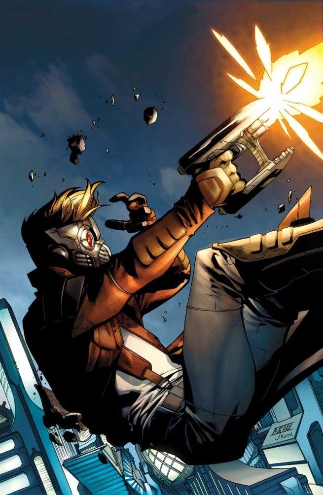 Original Guardians Of The Galaxy Comic Star Lord
