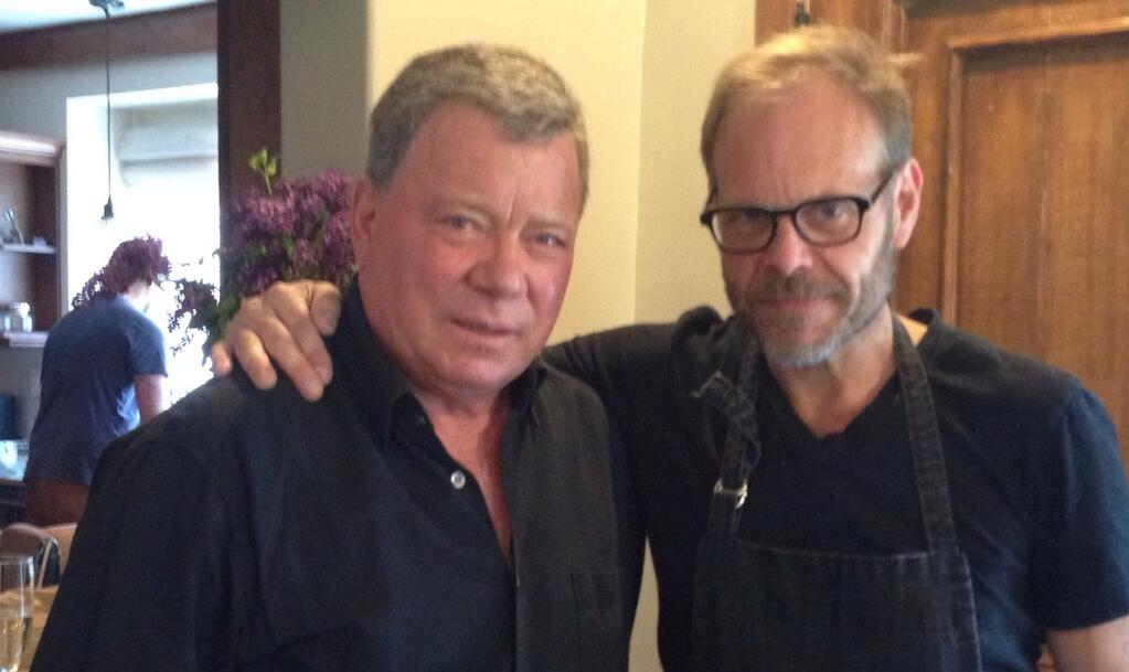 William Shatner Tastes Alton Brown's Wine in Clip From Today's Brown Bag Wine Tasting