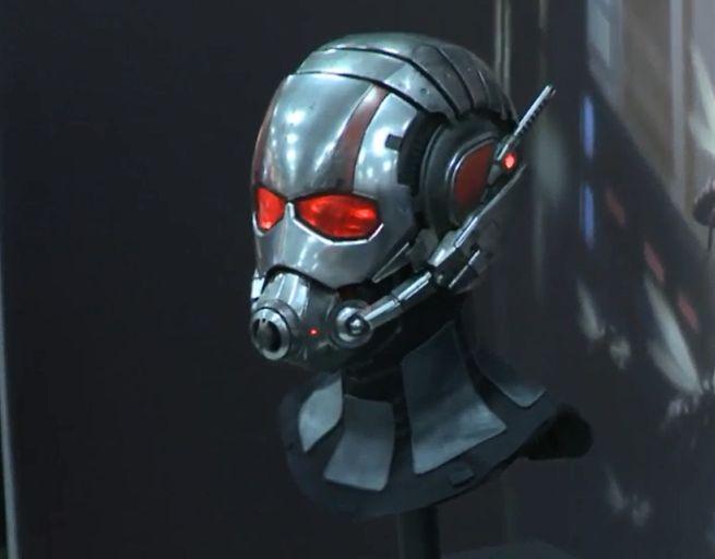 Ant Man Movie First Look At Ant Man Helmet