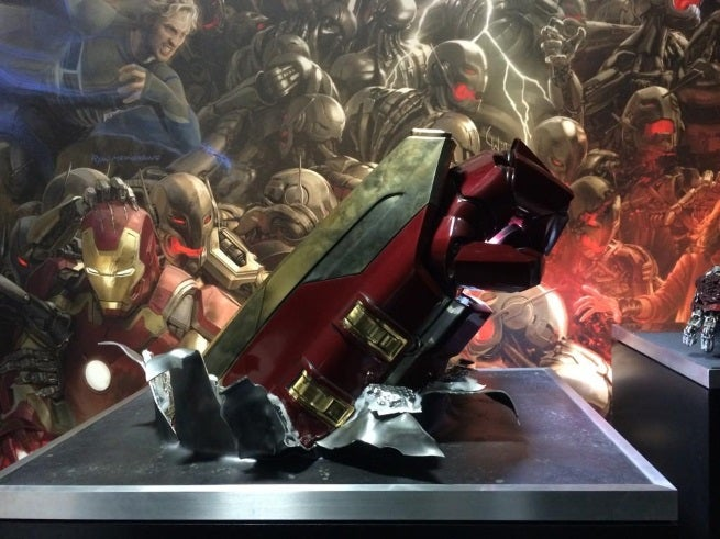 Avengers: Age Of Ultron: Hulbuster Armor Fist Revealed