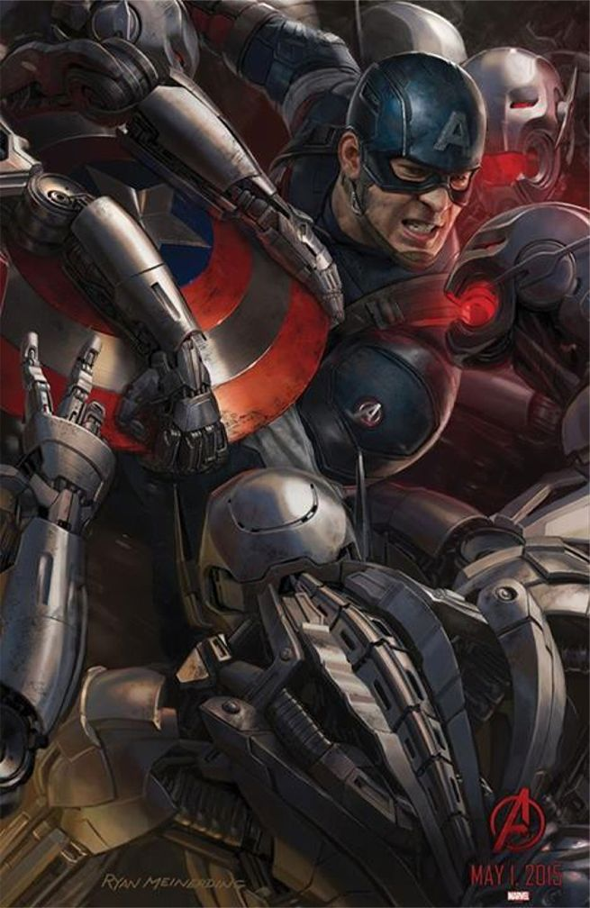 Age Of Ultron Concept Art