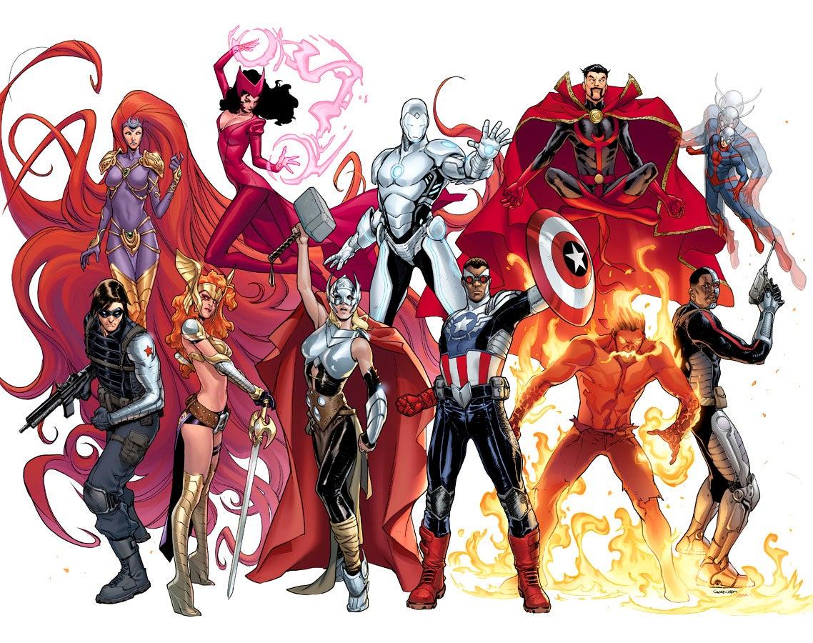 Marvel Comics Announces Comic Con Panel Detaills