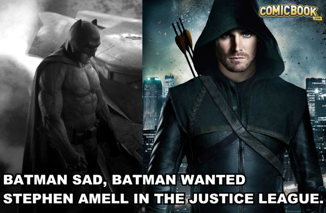 Batman Arrow Justice League