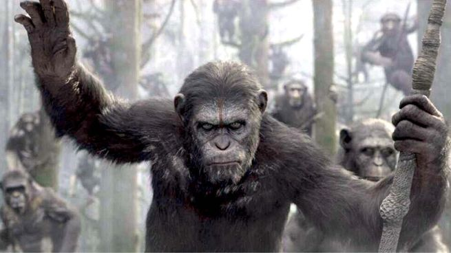 Dawn of the Planet of the Apes Repeats as Box Office #1