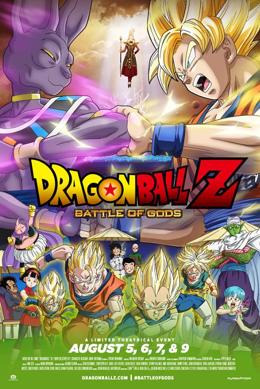Dragon Ball Z: Battle Of Gods Coming To Theaters In August