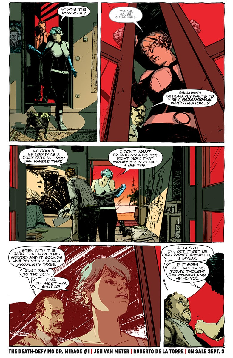 The Death-Defying Doctor Mirage: Second Lives #3   CBR