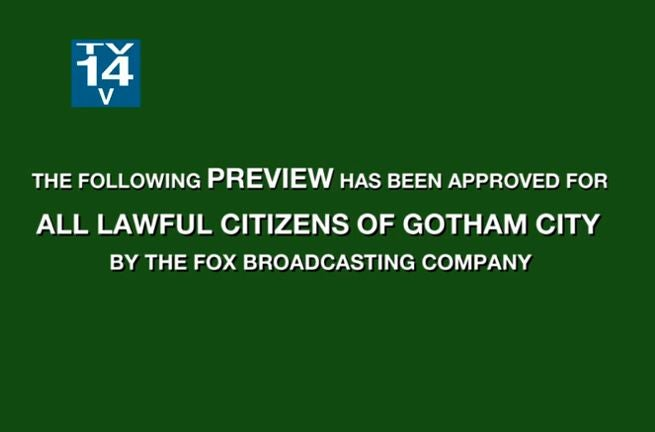 Gotham Previews
