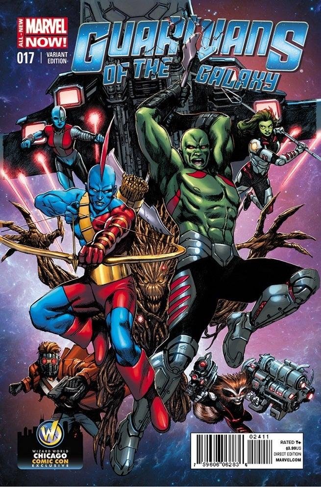 Guardians Of The Galaxy 17 Exclusive Variant Cover For