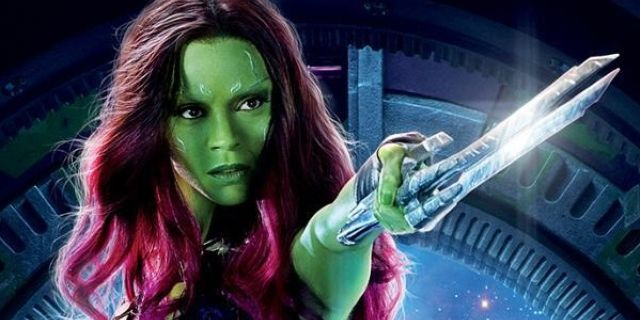 Guardians Of The Galaxy 2014 Gamora Guardians Of Galaxy Video Zoe
