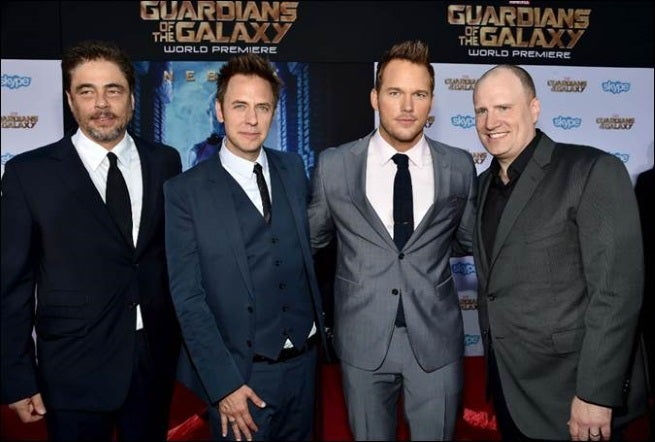 Guardians Of The Galaxy Premiere Photos