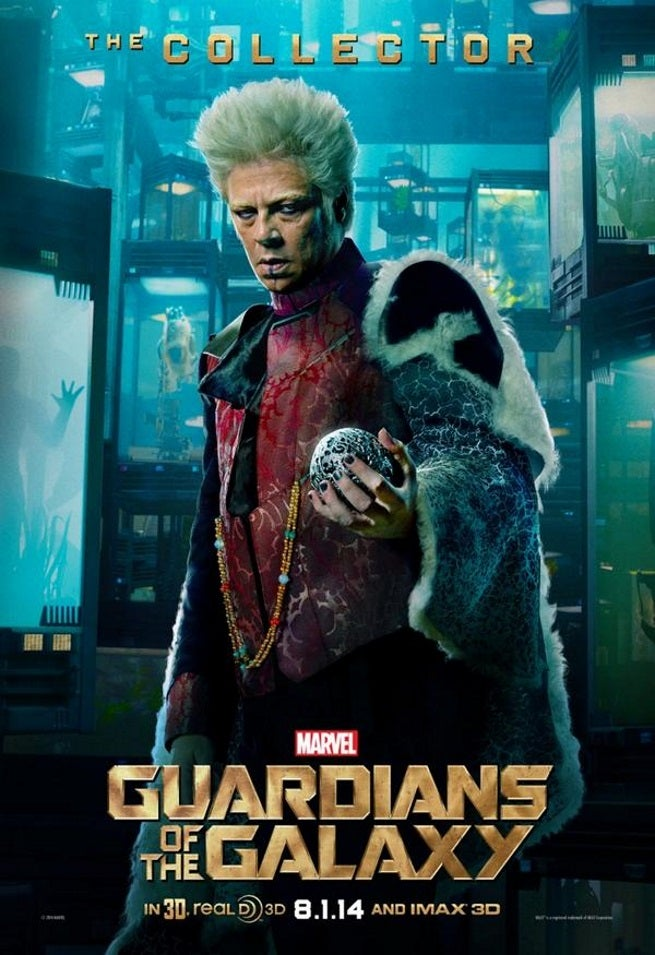 Guardians of the galaxy the collector character poster released
