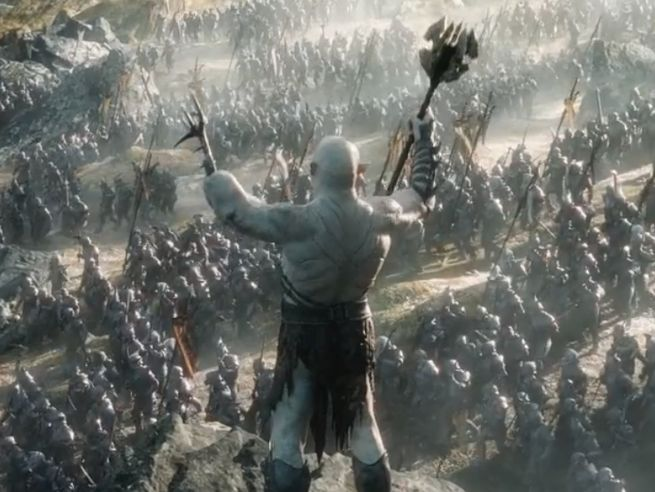 The Hobbit: The Battle Of The Five Armies Trailer Premiering On Monday At 3 PM ET, Sneak Peek Released