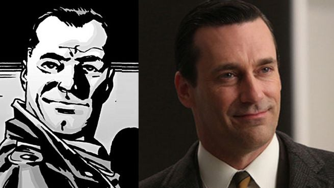 Jon Hamm as Negan