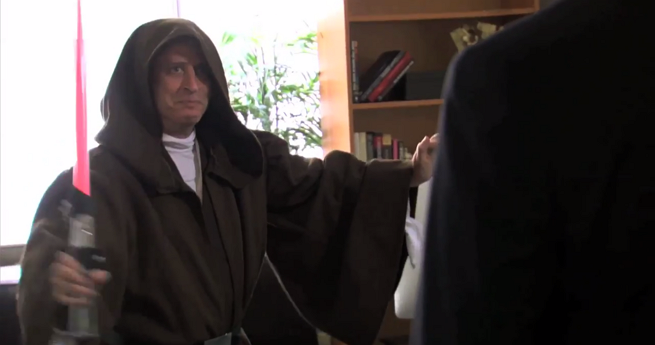 World's Biggest Star Wars Fan: Jon Stewart Or Stephen Colbert?