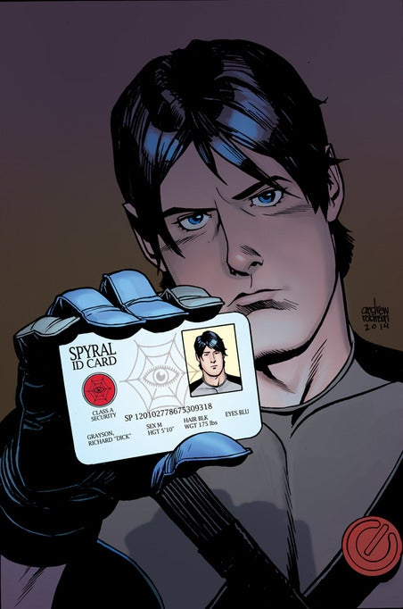 Grayson #2 Selfie Cover