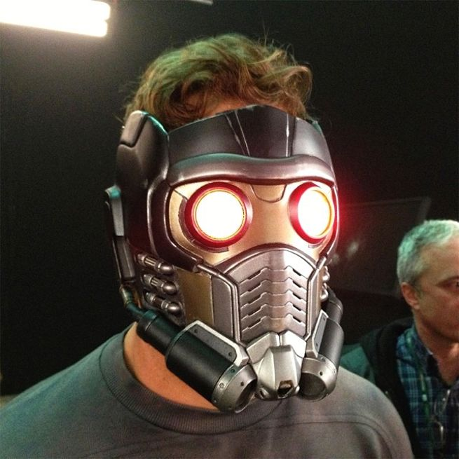Guardians Of The Galaxy: Prototype Star-Lord Mask Photo ...