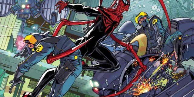 Superior Spider-Man 32 Cover