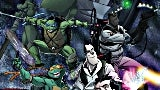 teenage mutant ninja turltes crossover