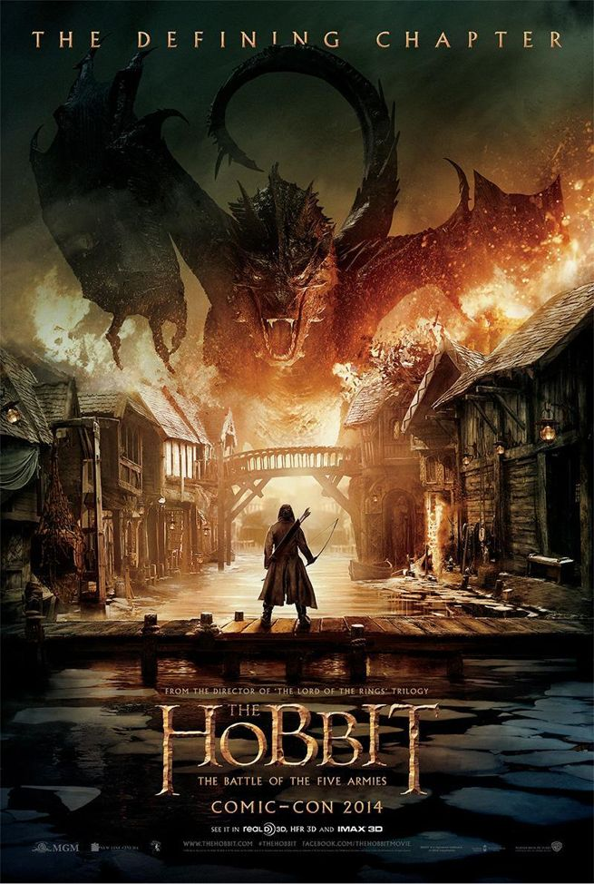 the hobbit the battle of the five armies poster released