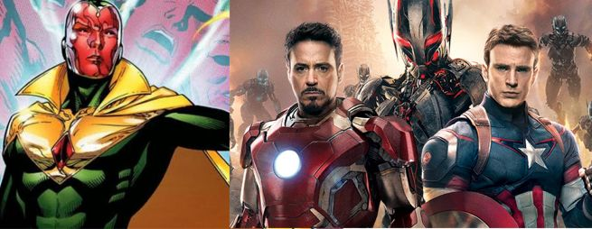 The Vision Avengers Age Of Ultron