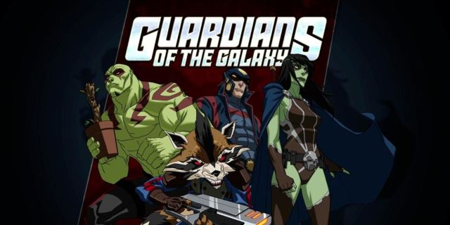 Ultimate-Spider-Man Guardians-of-the-Galaxy
